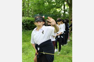 Y3 Outdoor Learning - ropes course