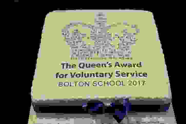 Volunteering Awards - QAVS Cake