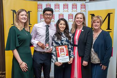 In July 2017 the School won the MEN's Active Community Award sponsored by Redrow