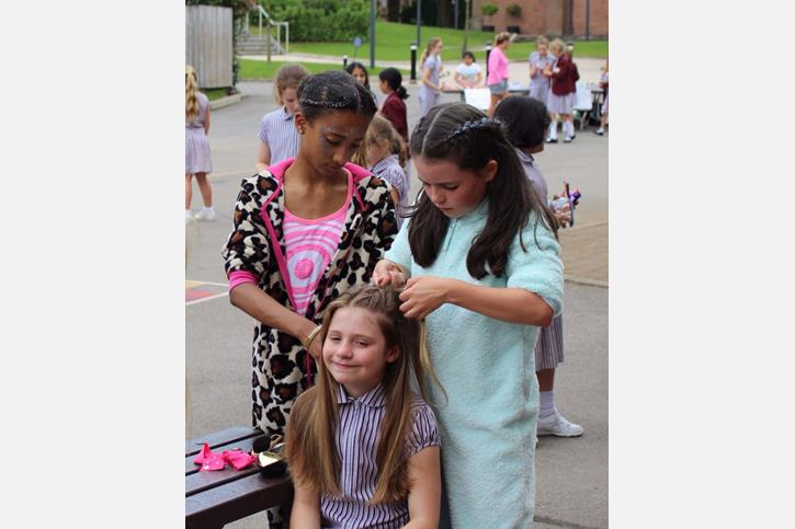 Charity Afternoon - hair braiding