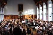 Y7-8 Celebration - sunny Great Hall