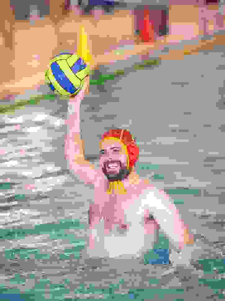Trevor Pledger Farewell - water polo match