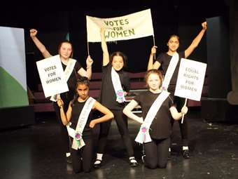 Y6 Play Keymaster - suffrage movement