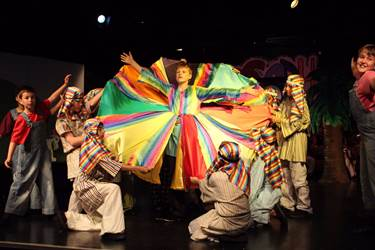 Joseph and the Amazing Technicolour Dreamcoat, the Junior Boys' Year 6 Play in 2017