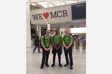 Three Sixth Form students walked from Grenfell Tower to Manchester Arena in July, covering almost 200 miles in 6 days to raise money for the We Love Manchester Emergency Fund and the Grenfell Tower Emergency Fund