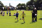 Sports Day - finish line