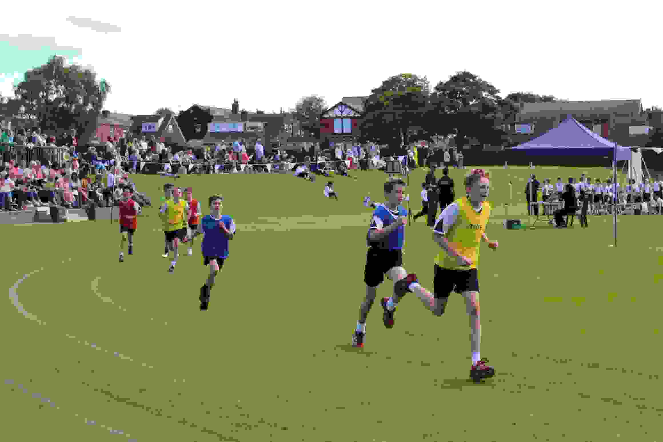 Sports Day - Y6 race
