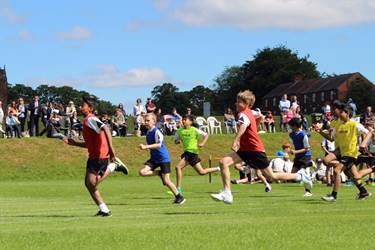 Sports Day - running