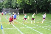 Sports Day - obstacle course