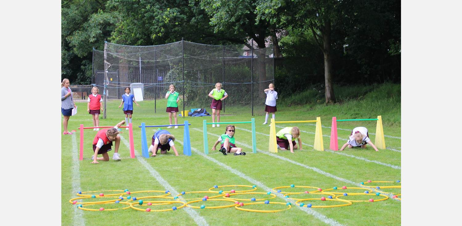 Sports Day - obstacle relay
