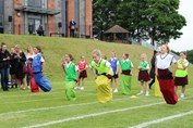 Sports Day - sack race