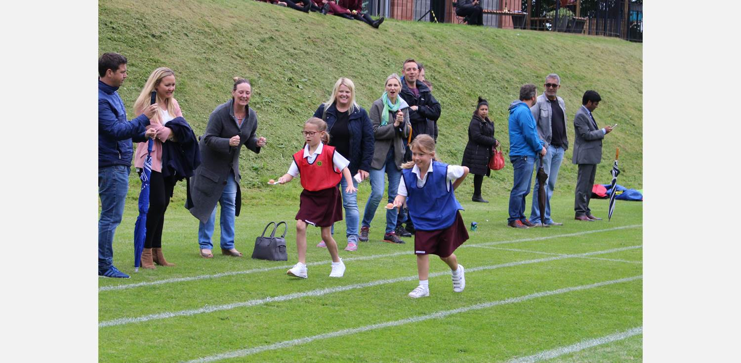 Sports Day - egg and spoon
