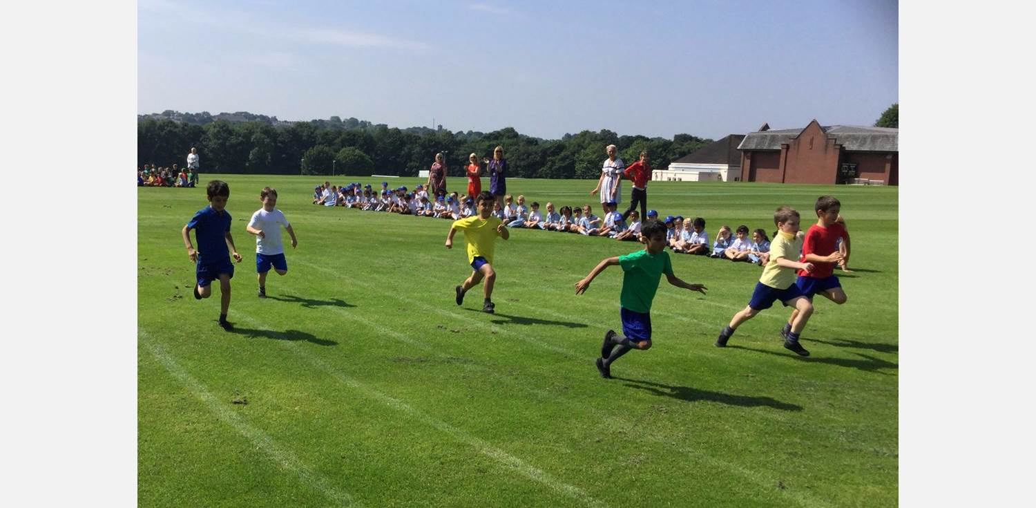 Sports Day - boys running