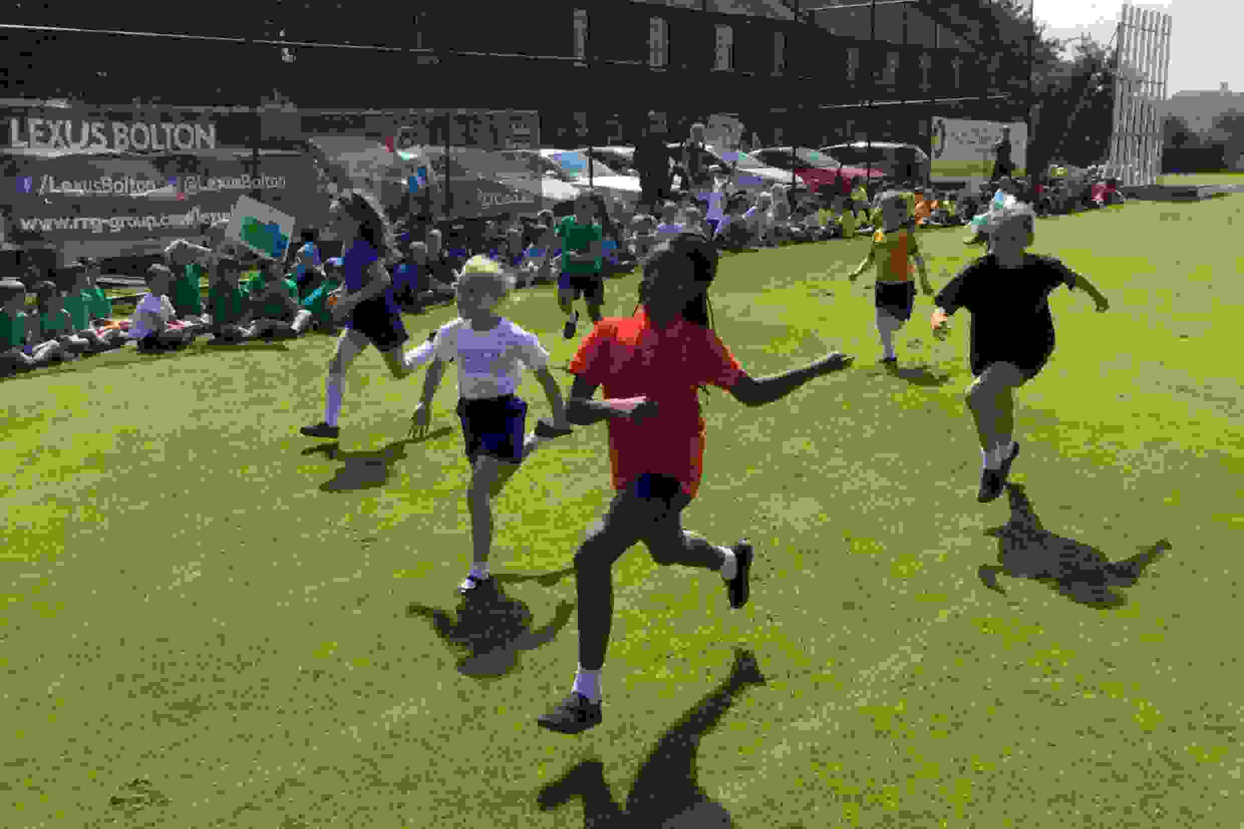 Sports Day - girls racing