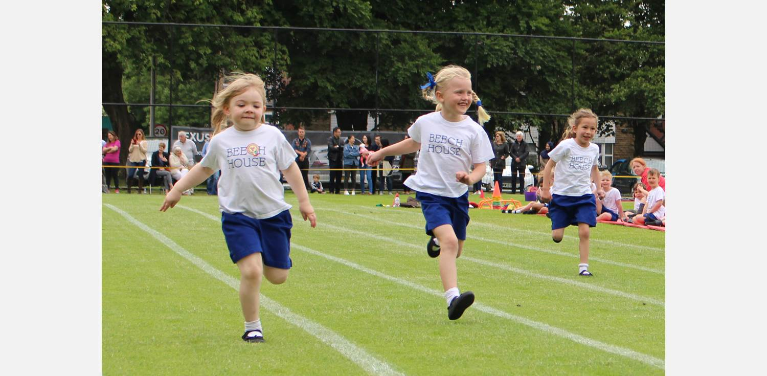 Sports Day - Reception race