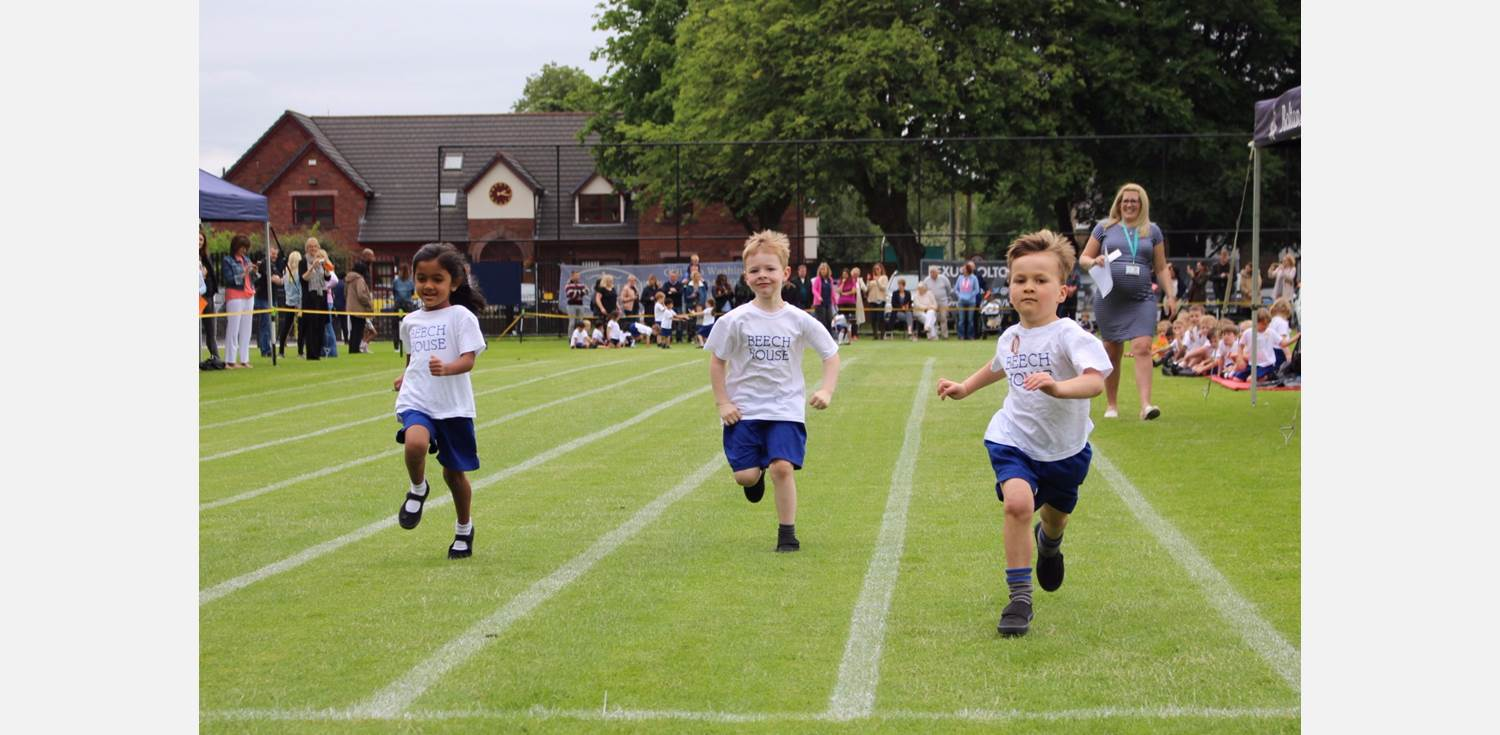 Sports Day - Reception running