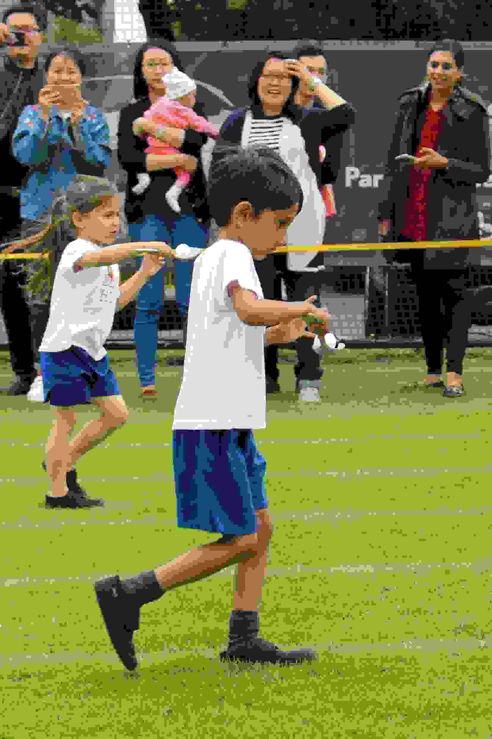 Sports Day - Reception Egg and Spoon race