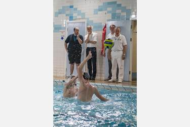Players and staff from Bolton School were thrilled to represent water polo and demonstrate their expertise to Prince William, the Duke of Cambridge, during his royal visit to Merseyside