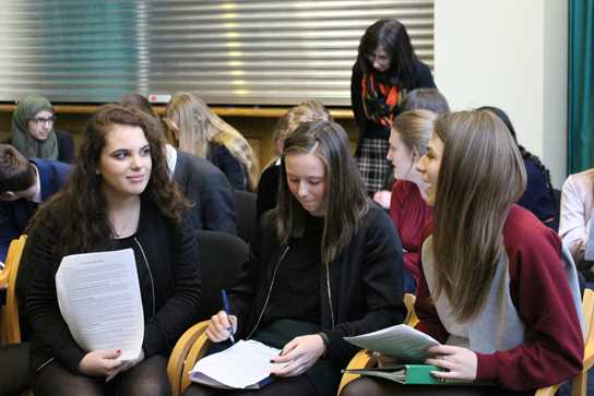 Sixth Form students enjoy the annual Journee Francaise