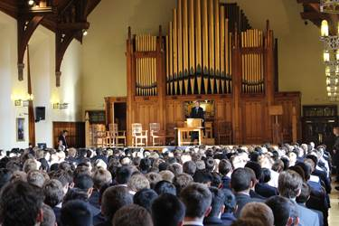 The Boys' Division marked the 166th birthday of Lord Leverhulme with a special assembly
