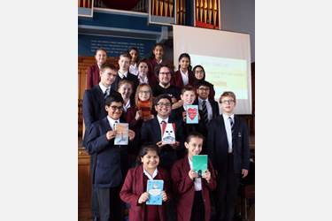 The Bolton Children's Fiction Award 2018 was launched by author Matt Killeen, who revealed the six shortlisted books at a ceremony in September
