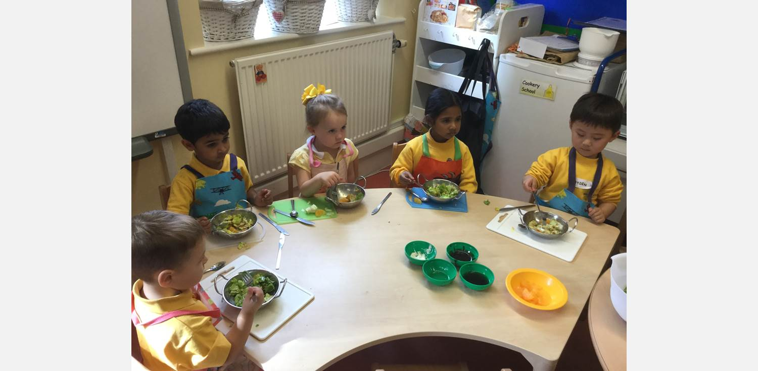 Cookery School - healthy eating