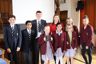 Athletic Inspiration - Kelly Massey with pupils