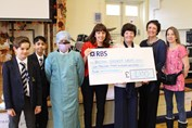 New Y5 Class big cheque Breast Unit Donation