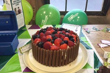 Macmillan Coffee Morning 2017 BD staff