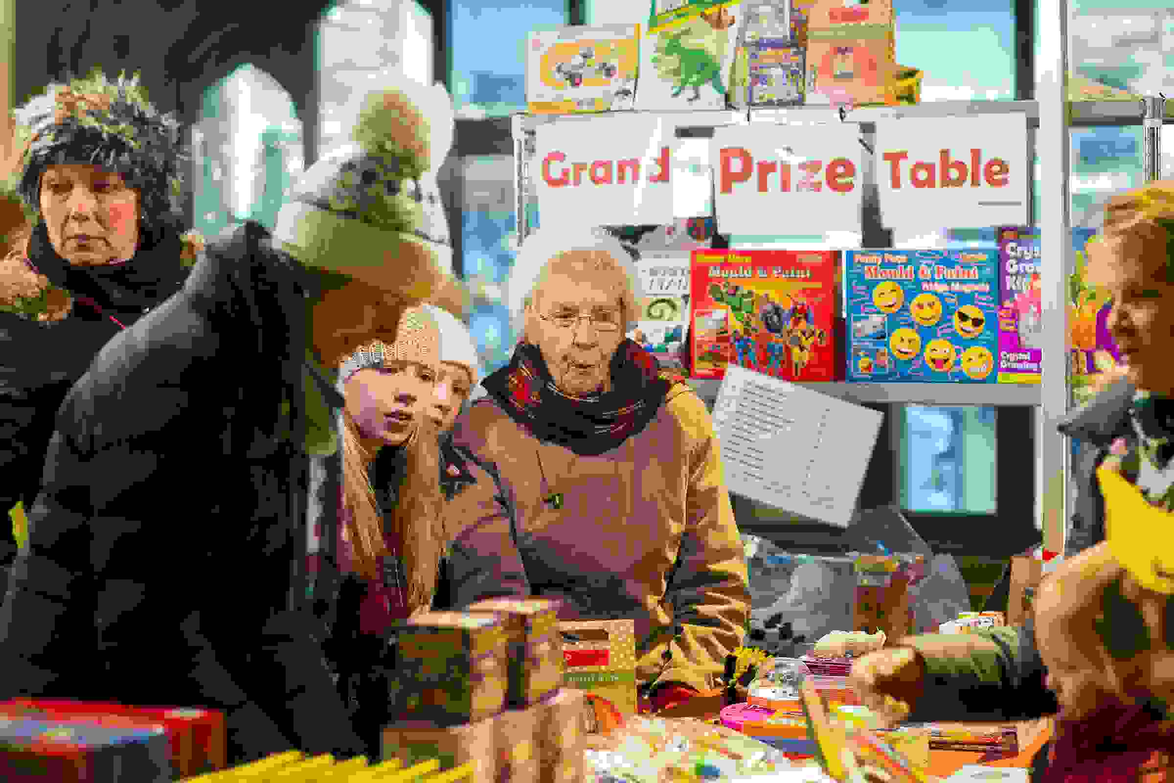 Fireworks prize stall