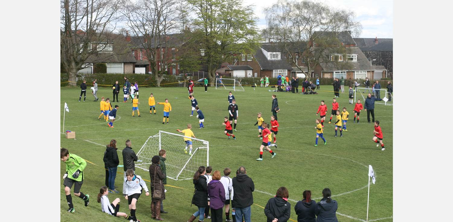 Bolton School Primary School Football Festival