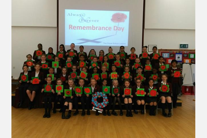 Remembrance Day group