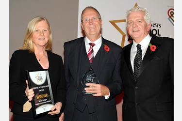 Mr Trevor Pledger, former teacher and Director of Partnerships at Bolton School Boys' Division, won the Lifetime Achievement Award at the Bolton News Schools Awards