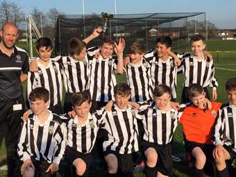 U13s Into Quarter Final of ISFA Cup