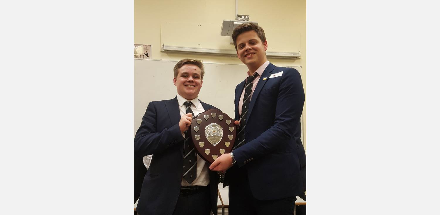 MFL Debates - Sam Warburton and Joe Smith - German winners
