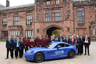 Pupils from local schools joined Bolton School students for a STEM Racing Challenge