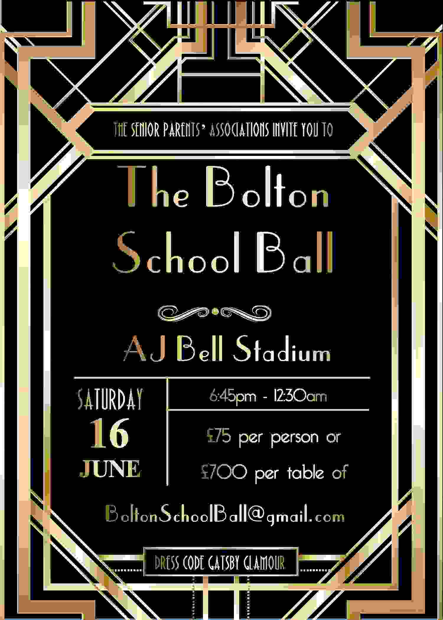 Bolton School Ball Flier Dec17