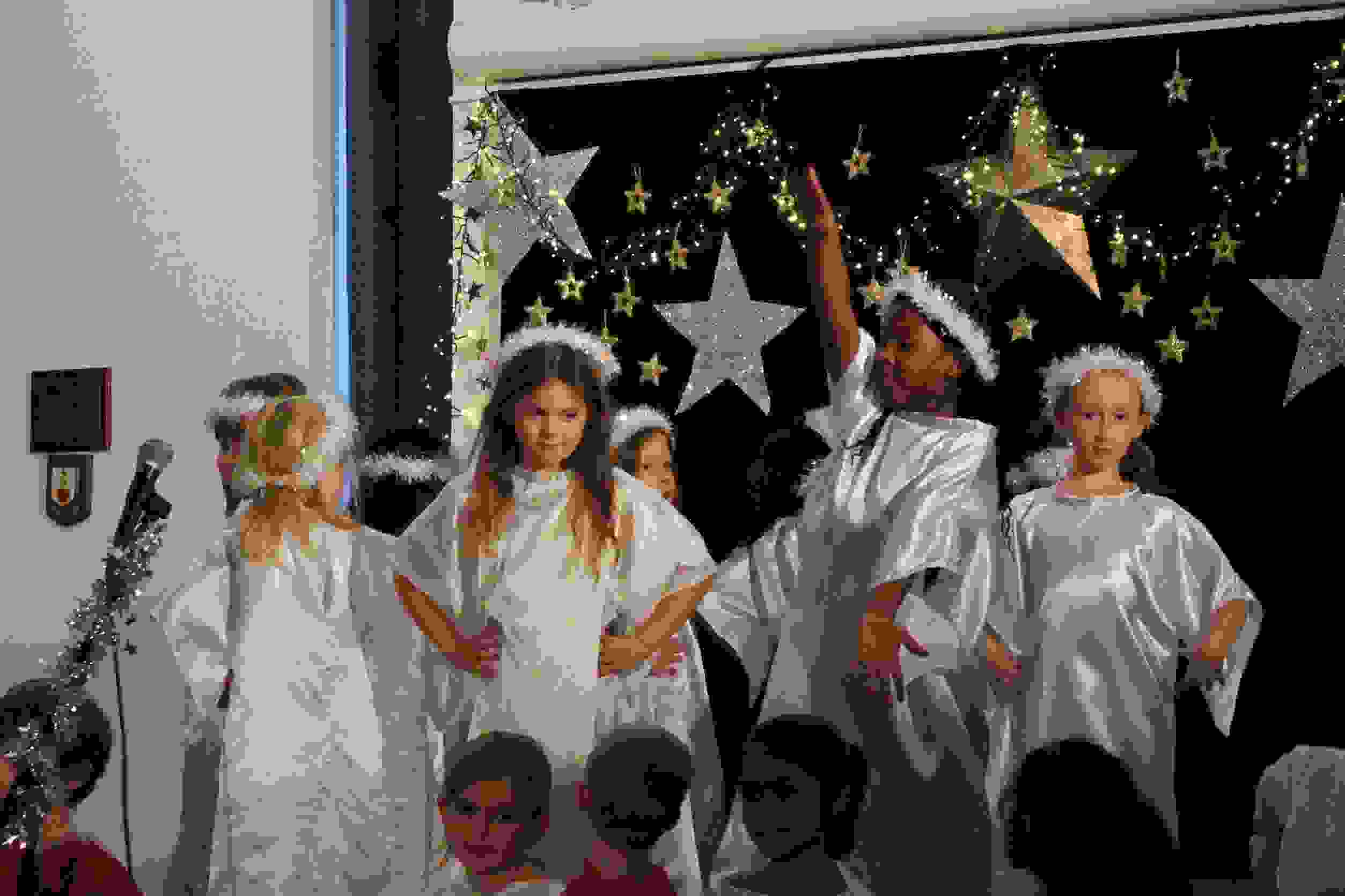 Strictly Y2 Nativity Angels