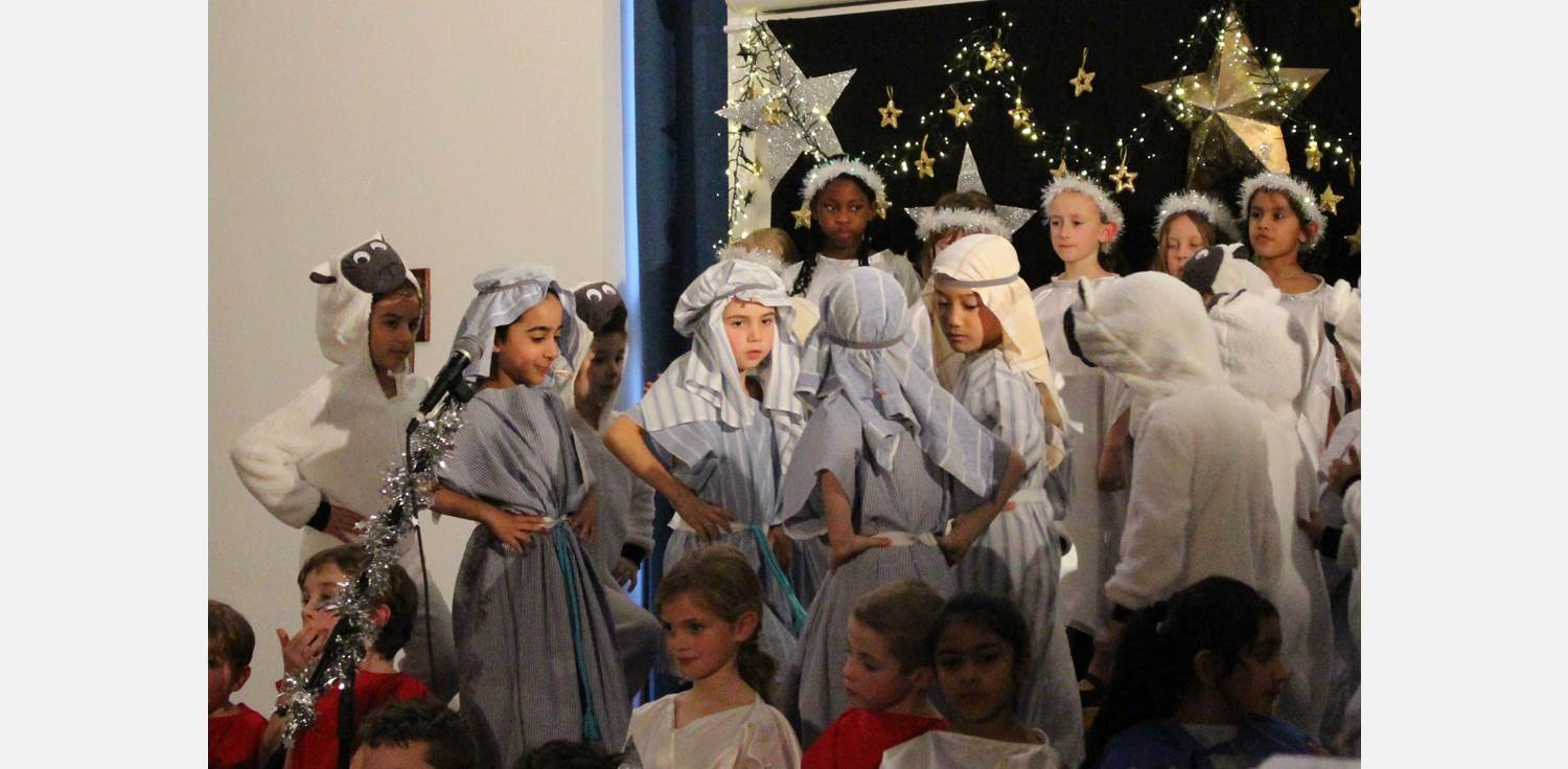 Strictly Y2 Nativity Shepherds and Sheep