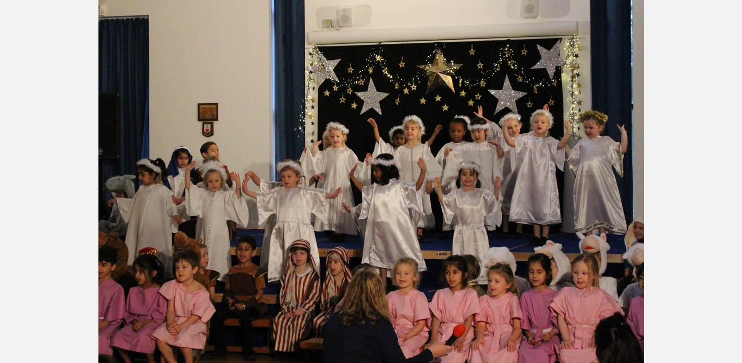 Traditional Reception Nativity Angels