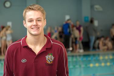 Lewis Daly has been called up to the men's England Water Polo team
