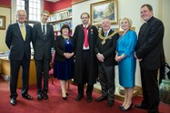 The School was delighted to welcome the Chairman of Governors, the Vicar of Bolton and the Mayor and Mayoresses of Bolton