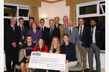 A grand total of 5491 was raised for the Bursary Fund