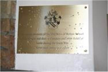 Bolton School Memorial Plaque