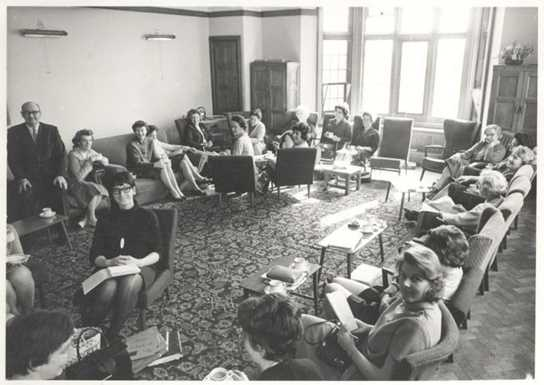 The Girls Division Staff Room in the 1960s