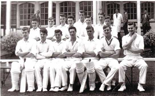 The 1959 Lancashire Federation U19 Team featuring Peter Jarvis Duncan Worsley and Geoff Ogden (seated third from left)