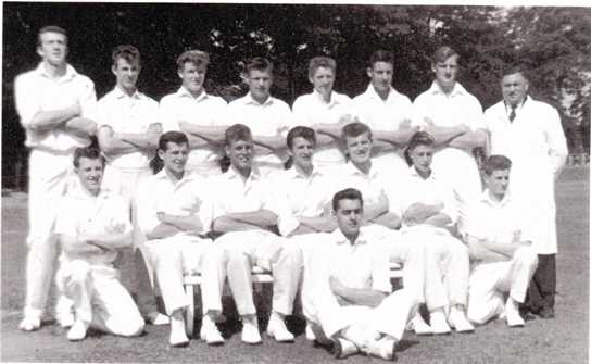 The 1960 Lancashire Federation U19 Team featuring Peter Jarvis Duncan Worsley and Geoff Ogden