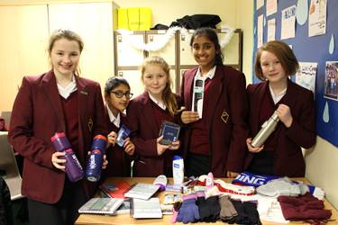Y7 Form Advent Calendar Donations