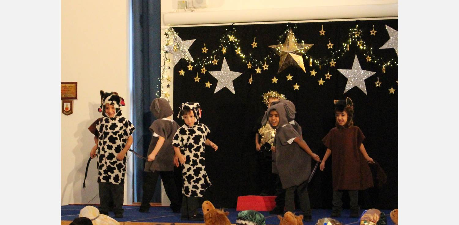 Shine Star Shine Y1 Nativity Animals