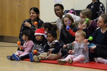 Christmas Sing-Along with the Nursery children